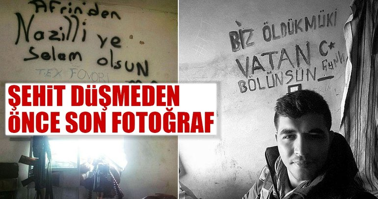Son Dakika Haberi: Şehit askerden son fotoğrafında anlamlı mesaj