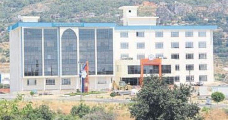 ALKÜ Rektörlüğü Kestel'e taşındı