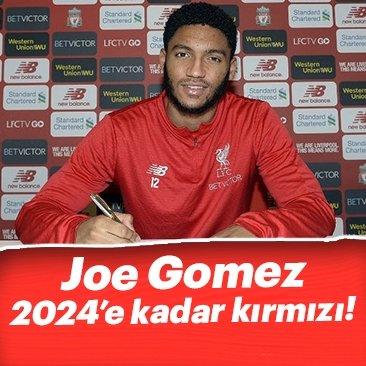Liverpool, Joe Gomez'in sözleşmesini uzattı