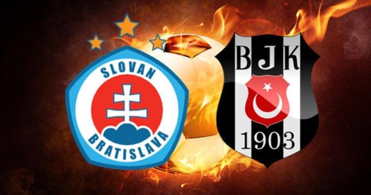 UEFA Avrupa Ligi Slovan Bratislava - Beşiktaş maçı saat kaçta hangi kanalda? Slovan Bratislava Beşiktaş maçı ne zaman?