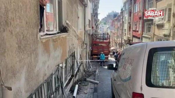 Şişli'de freni boşalan kamyonet dehşet saçtı   Video