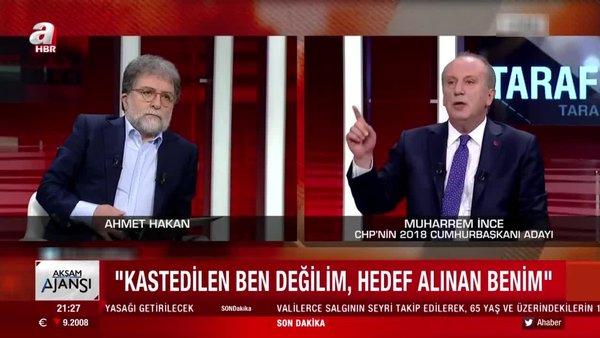Muharrem İnce'den CHP yönetimine sert tepki | Video