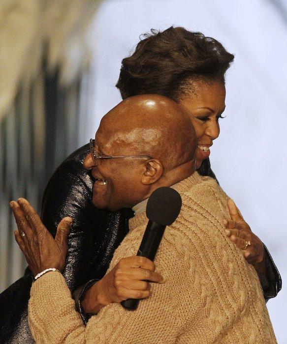 Michelle Obama şınav çekerse!