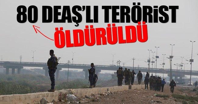 80 DEAŞ'lı öldürüldü