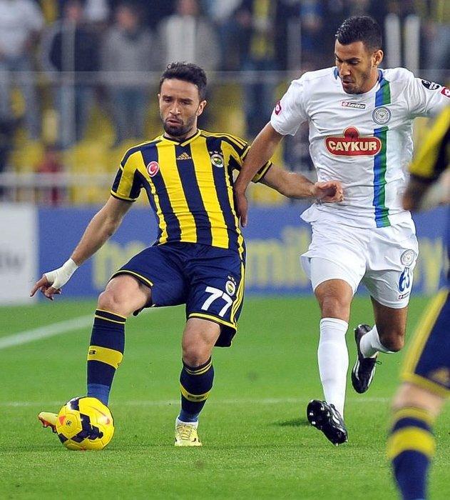 Fenerbahçe - Çaykur Rizespor maçının fotoğrafları