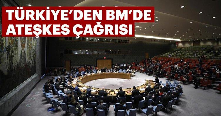 Son dakika: Türkiye'den BM'de İdlib için ateşkes çağrısı