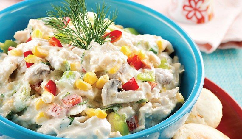 Patlıcanlı Tavuk Salatası Tarifi