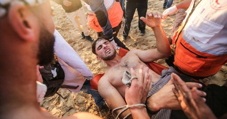 İşgalci İsrail askerleri Gazze'de ölüm kustu
