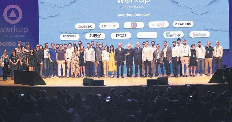 Workup Girişimcilik'ten 11 yeni mezun