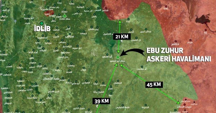 Suriye'de rejim güçleri Ebu Zuhur'dan uzaklaştırılıyor
