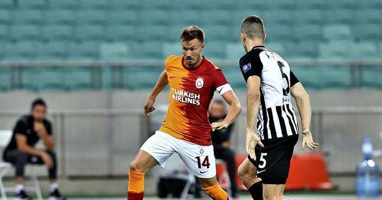 Galatasaray'da dörtlü rotasyon!