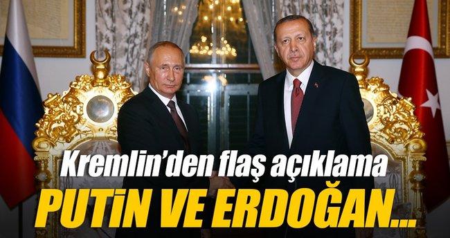 Kremlin: Erdoğan ve Putin büyük yol aldı