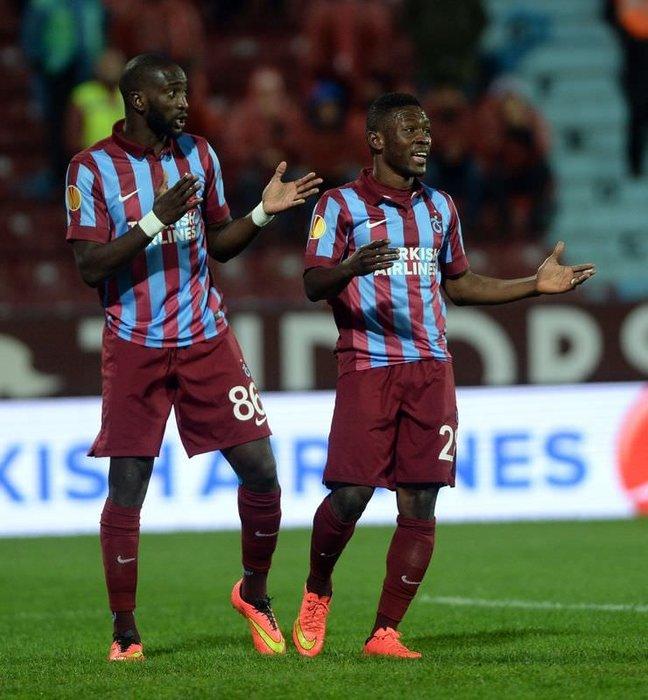 Trabzonspor - Metalist Kharkiv maçının fotoğrafları