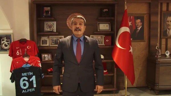 Trabzon Emniyet Müdürü'nün Mevlid Kandili paylaşımına beğeni yağdı | Video