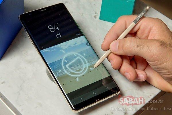 Samsung Galaxy Note 9'daki yatay kamera sırrı açığa çıktı! Galaxy Note 9 ne zaman çıkacak?