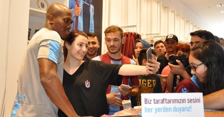 Trabzonspor'da forma kampanyasına futbolculardan destek