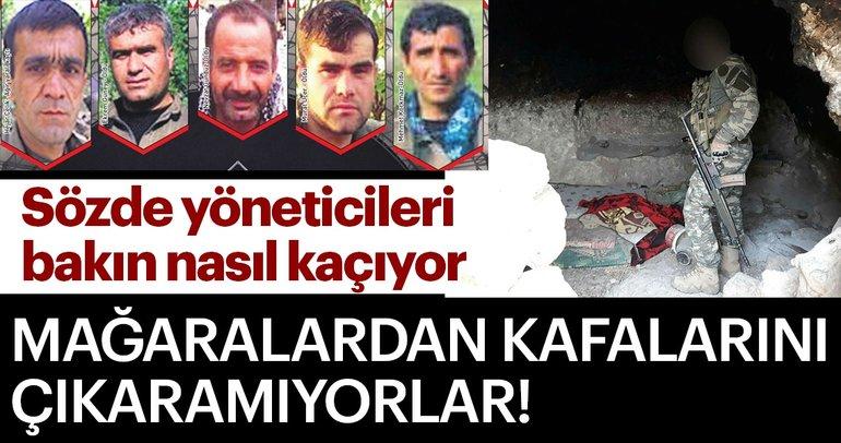 Son Dakika: PKK'lı teröristler SİHA korkusuyla yer altından çıkamıyorlar