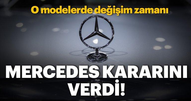 Mercedes güncellemeye karar verdi