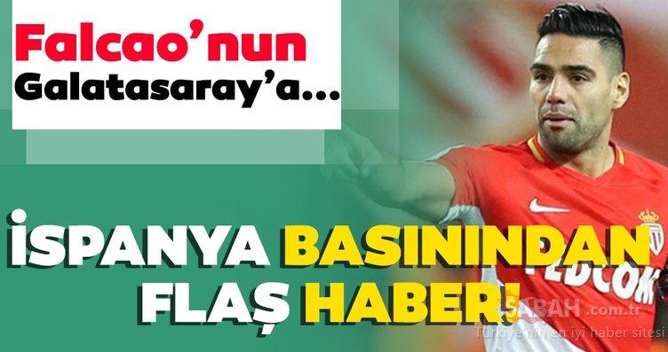 Son dakika: İspanya basınından bomba Falcao haberi! Falcao'nun Galatasaray'a…