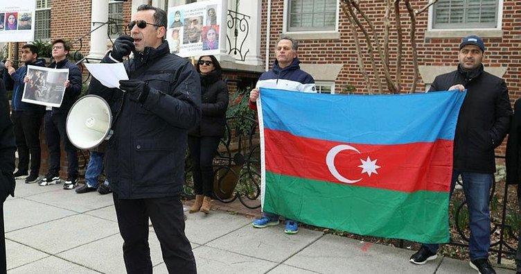 Hocalı katliamı Washington'da protesto edildi
