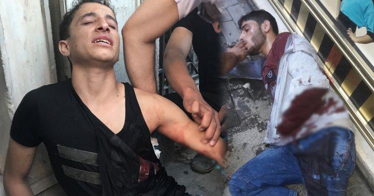 Bıçaklanan iki kardeş metrelerce yürüdükten sonra yere yığıldı