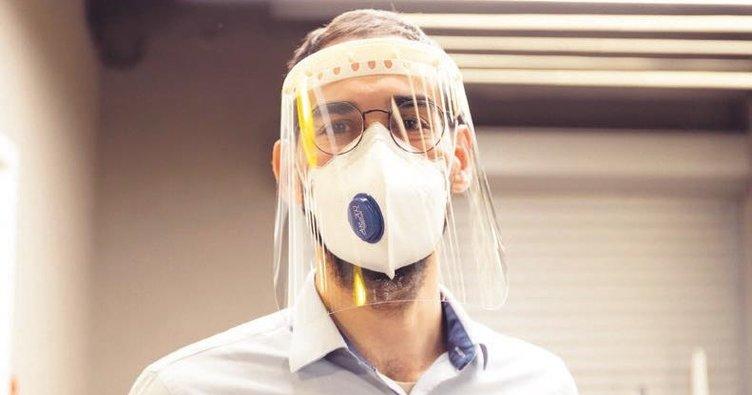 Sağlık çalışanlarına 3B baskı ile siperlik