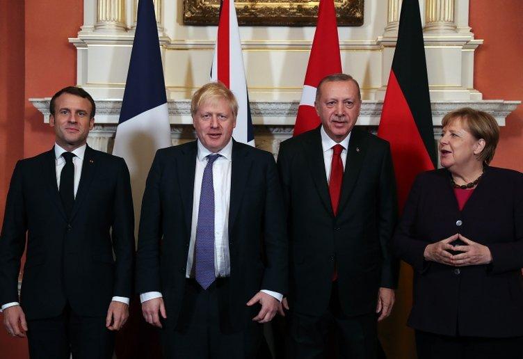 İşte Dörtlü Suriye Zirvesi'den ilk kareler