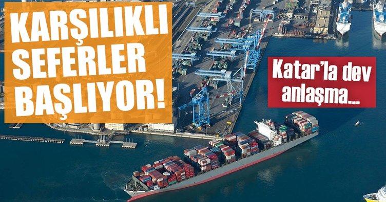 88 Katarlı şirket İzmir'e geldi