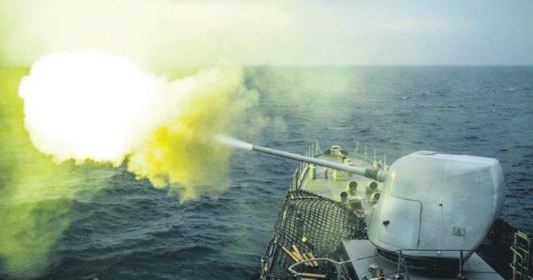 Milli silahlar Deniz Kurdu'nda test edildi
