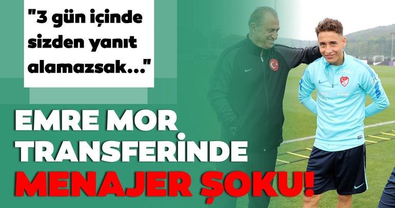 Son dakika Galatasaray transfer haberleri! Emre Mor transferinde menajer şoku!