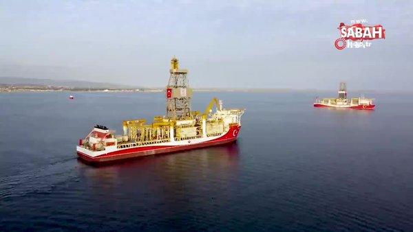 Bakan Dönmez'den 'Kanuni Sondaj Gemisi' paylaşımı | Video