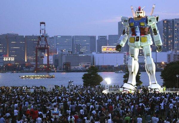 Tokyo'nun göbeğinde bir robot