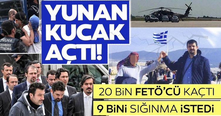 Yunanistan'ın 2 bin FETÖ'cünün siyasi sığınma başvurusunu kabul ettiği iddia edildi