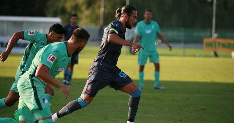 Trabzonspor 3-3 Hoffenheim | Maç sonucu