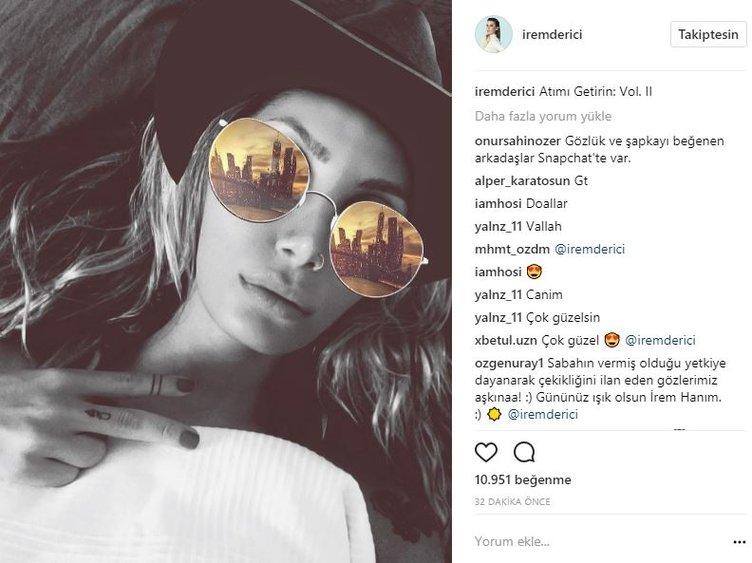 Ünlülerin Instagram paylaşımları (14.08.2017)