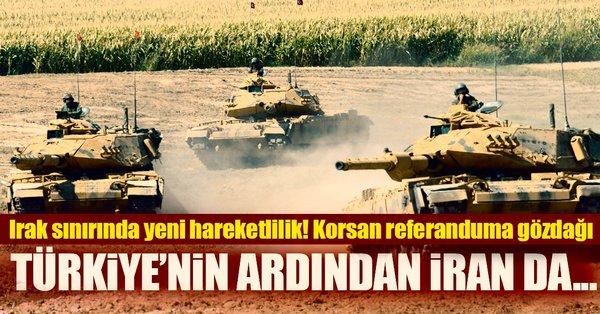 İran ve Irak ortak askeri tatbikata başlıyor!
