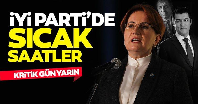 İYİ Parti'de 2 kritik son dakika haberi! Yarın önemli gün