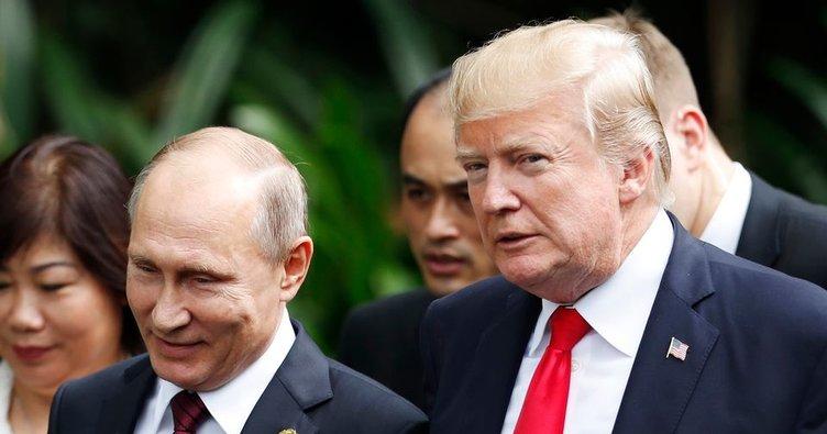 Trump: Putin ile görüşmemizden kötü birşey çıkmaz - Dünya Haberleri