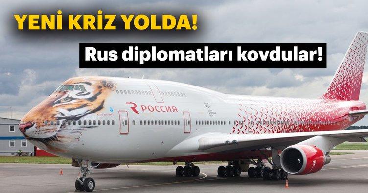 Son dakika: Rus diplomatları kovdular...