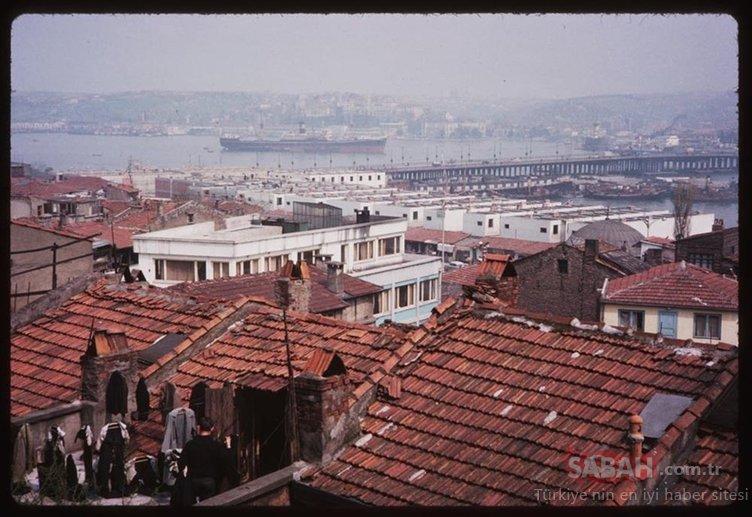 Renklendirilmiş halleriyle eski İstanbul