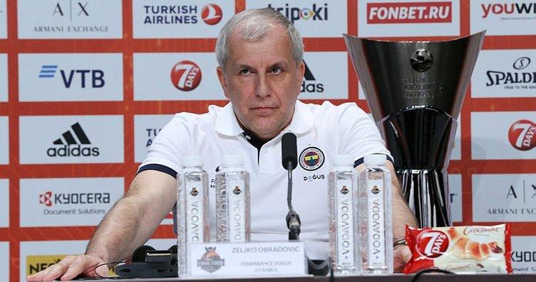 Zeljko Obradovic'ten final yorumu: Ayrıntılar belirler