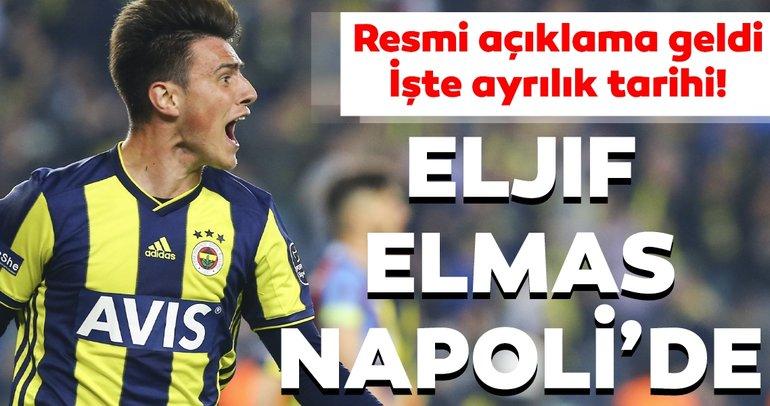 Fenerbahçe'de son dakika transfer gelişmesi: Eljif Elmas, Napoli'de! İşte ayrılık tarihi