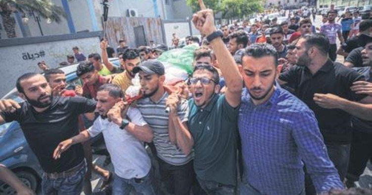 İsrail bir günde iki kez Gazze'yi hedef aldı: 6 Filistinli öldü