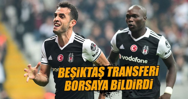 Beşiktaş, Rhodolfo'nun transferini borsaya bildirdi