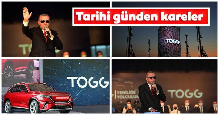 İlk yerli otomobil TOGG'un fabrika temeli Bursa'da atıldı! İşte tarihi günden kareler