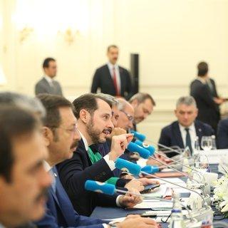 Bakan Berat Albayrak, reel ekonomi stratejilerini TOBB ile paylaştı