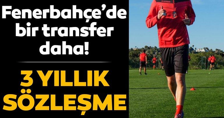 Fenerbahçe'de bir transfer daha! 3 yıllık sözleşme