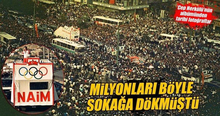 Naim Süleymanoğlu'nun albümünden tarihi fotoğraflar