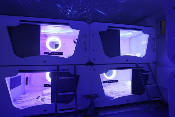 Uzaya gidemeyenlere 'Uzay otel'