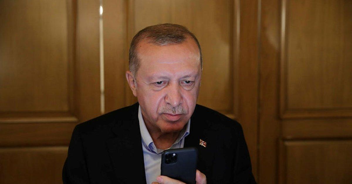 Başkan Erdoğan'dan KKTC Cumhurbaşkanı seçilen Ersin Tatar'a tebrik telefonu